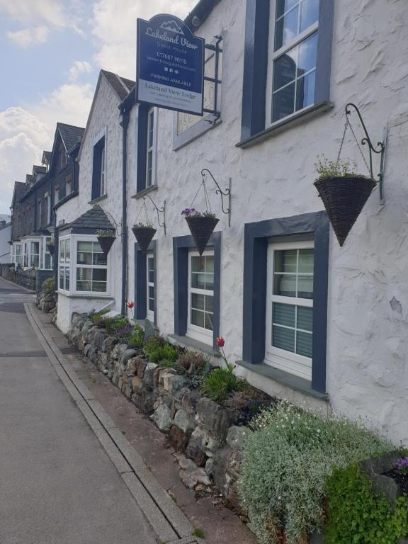 Lakeland View in Keswick, Cumbria, England