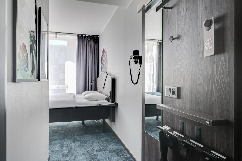 A bathroom at Hotel Fridhem