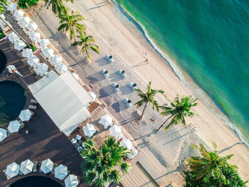 Pullman Pattaya Hotel G с высоты птичьего полета