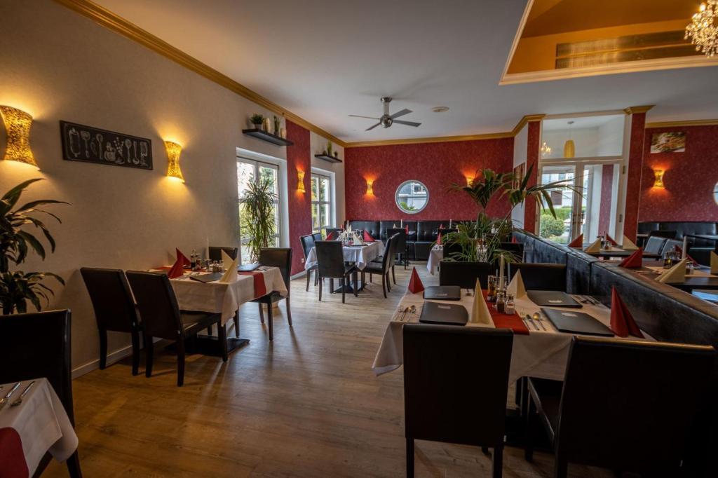 Ресторан / где поесть в Check Inn Hotel Merseburg