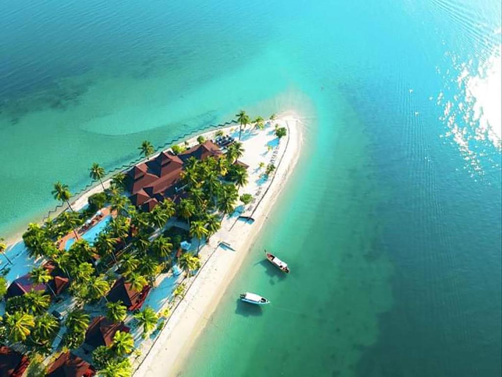 A bird's-eye view of Koh Mook Sivalai Beach Resort
