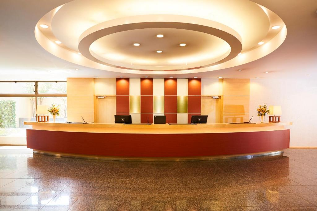 The lobby or reception area at Tmark City Hotel Sapporo