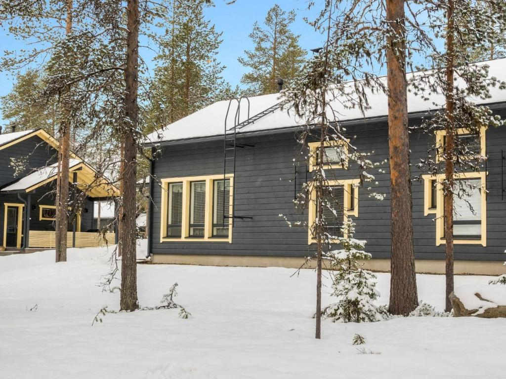 Holiday Home Rapsakka during the winter