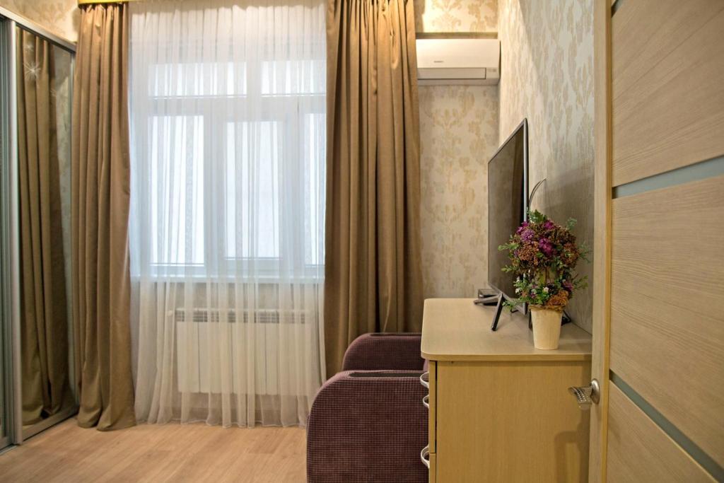Гостиная зона в Apartments on Meteleva