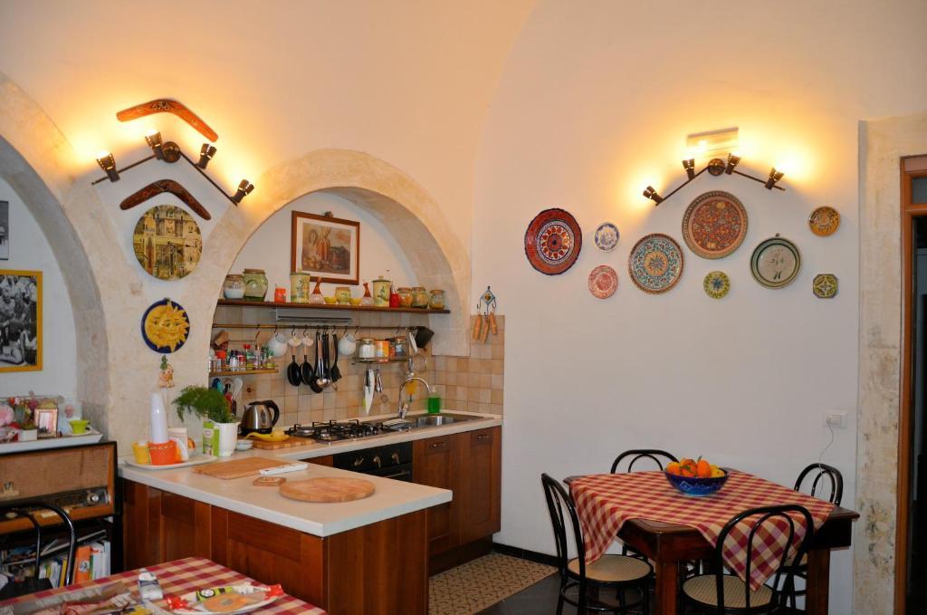 Ristorante o altro punto ristoro di Bed and Breakfast Araba Fenice
