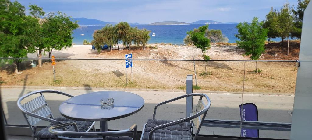 Μπαλκόνι ή βεράντα στο Angelo Hotel-Cafe