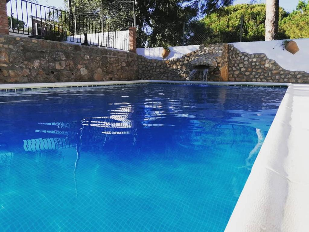 The swimming pool at or near Finca El Abuelo