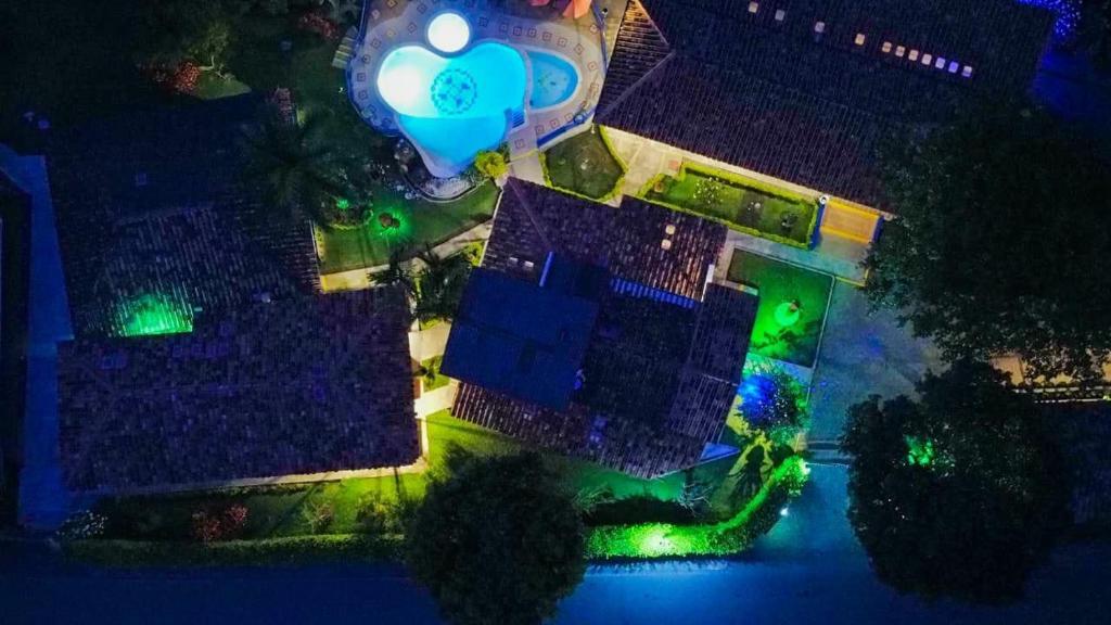 A bird's-eye view of Hotel Mi Monaco