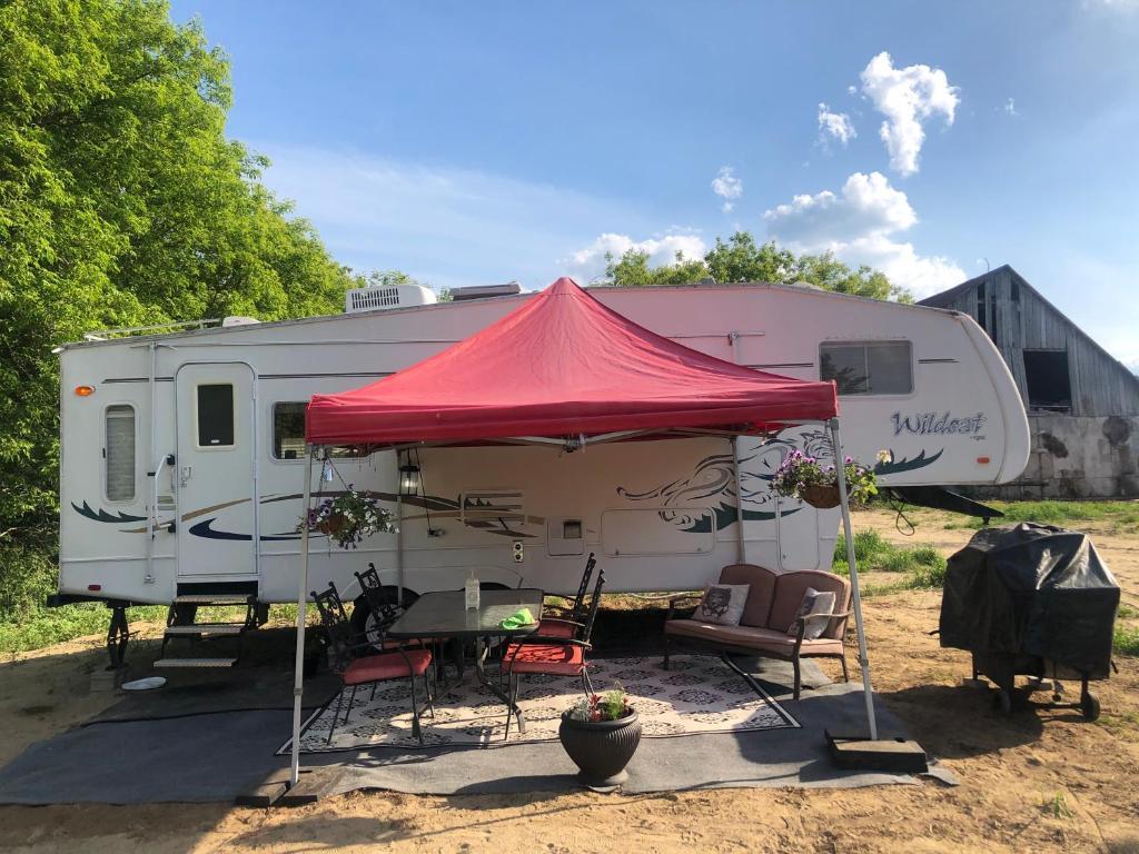 Camping en campagne
