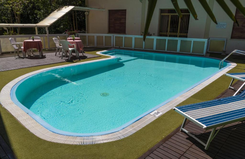 The swimming pool at or near Hotel Sanremo