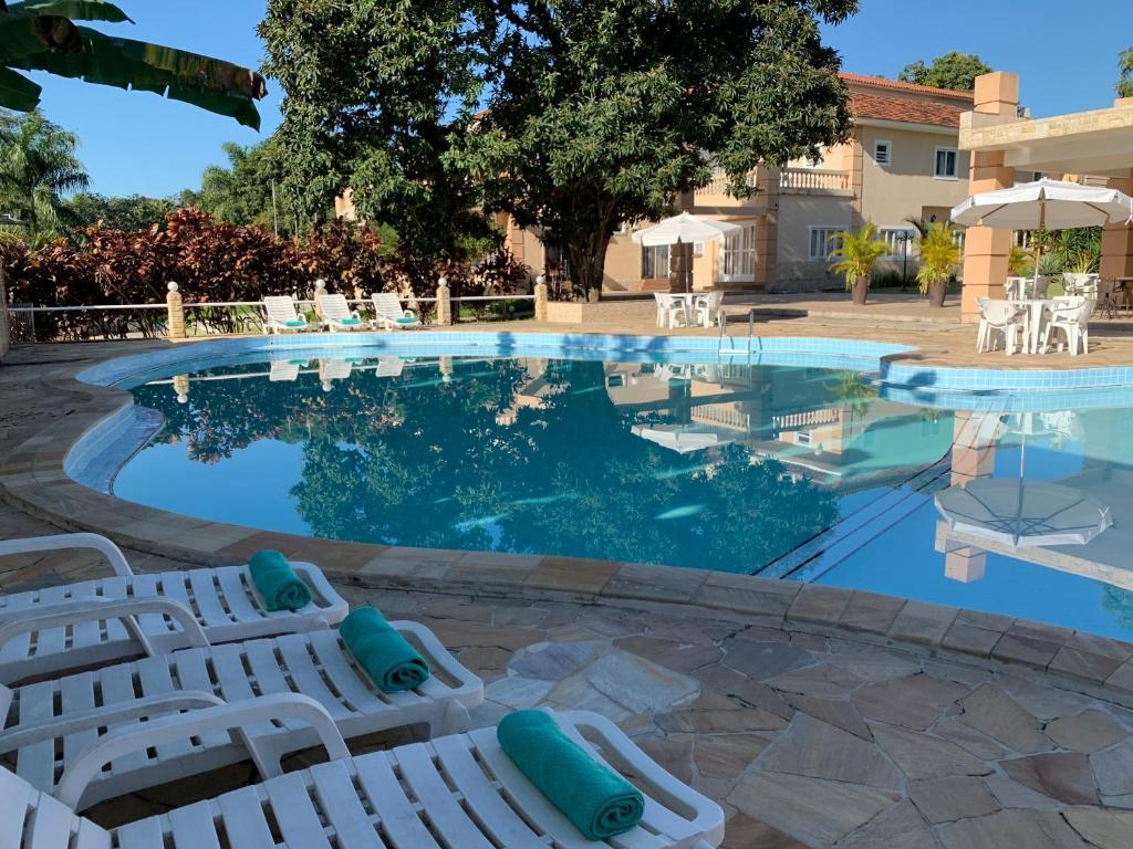 The swimming pool at or close to Hotel La Ponsa Itatiaia