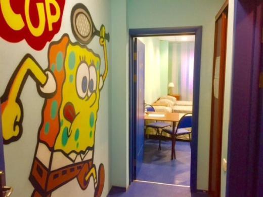 Ванная комната в Спорт Отель