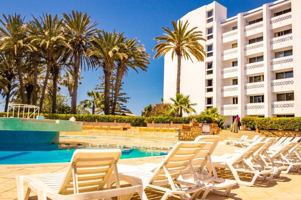 المسبح في HAMILTON Agadir أو بالجوار