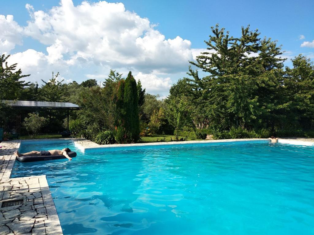 The swimming pool at or near Quinta da Telheira