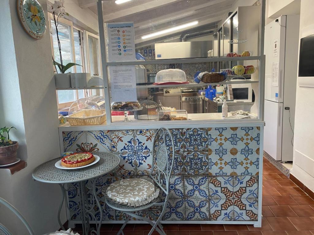 Cucina o angolo cottura di La Casa del Limoneto