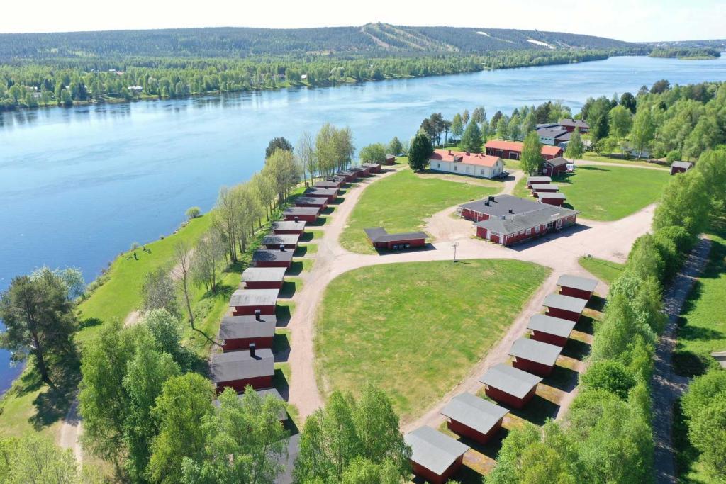 Saarituvat Cottages a vista de pájaro