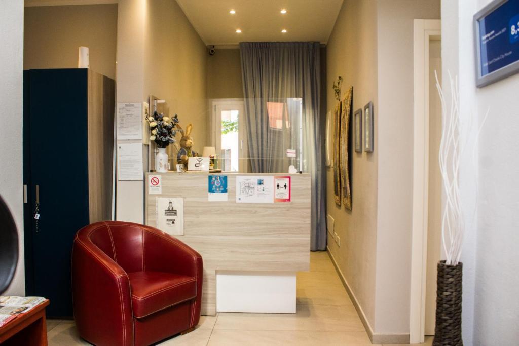 Hall ou réception de l'établissement Hotel Sant'Orsola City House