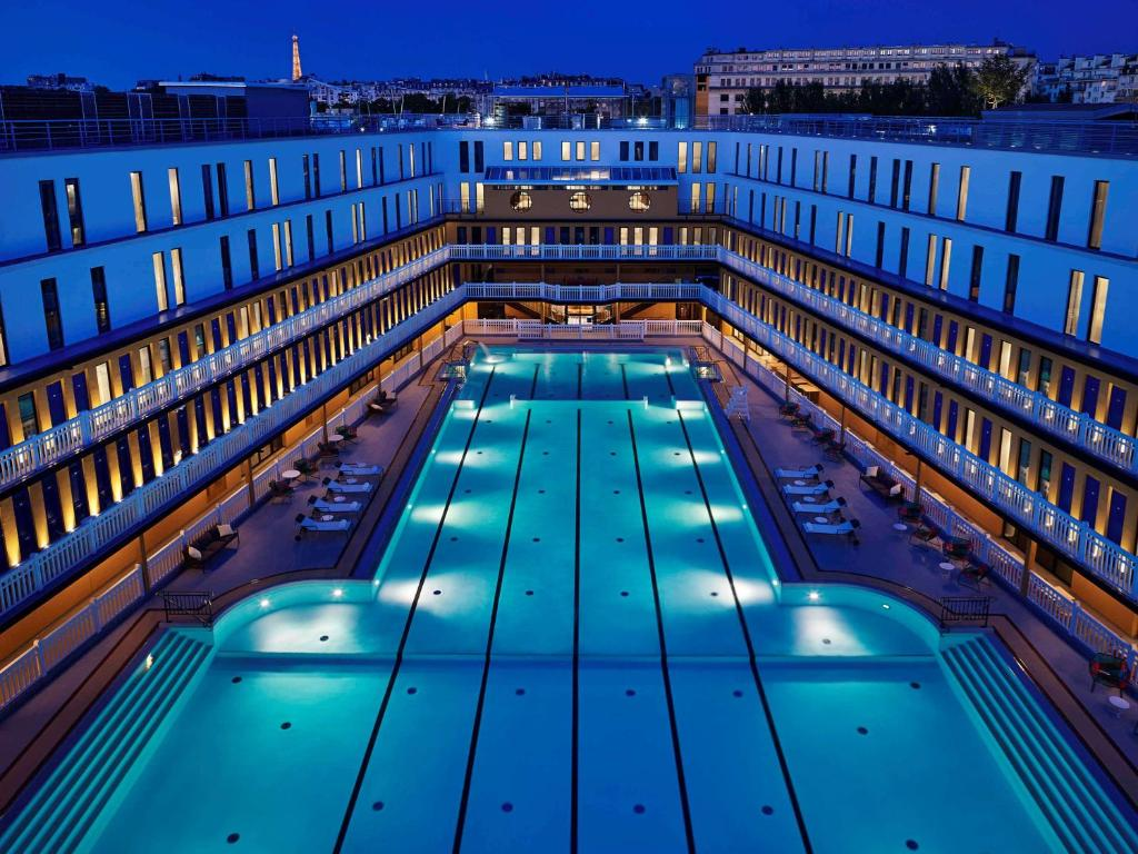 The swimming pool at or near Molitor Paris - MGallery