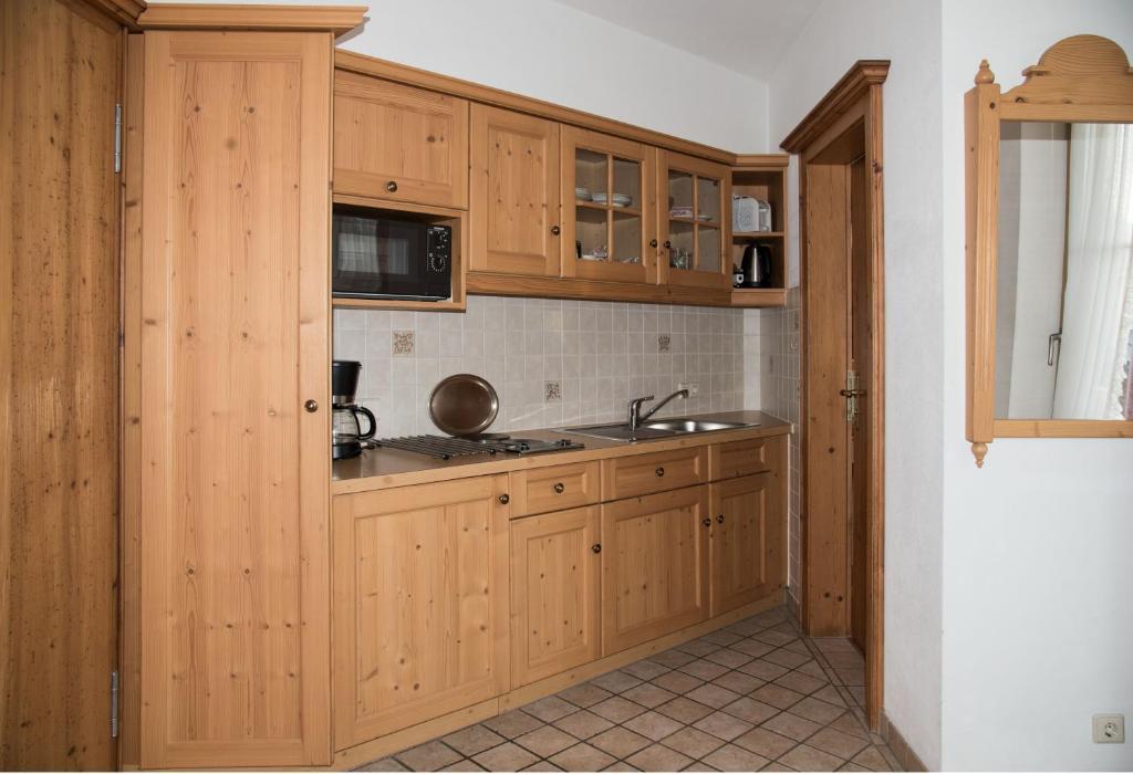 Küche/Küchenzeile in der Unterkunft Haus Feichtner