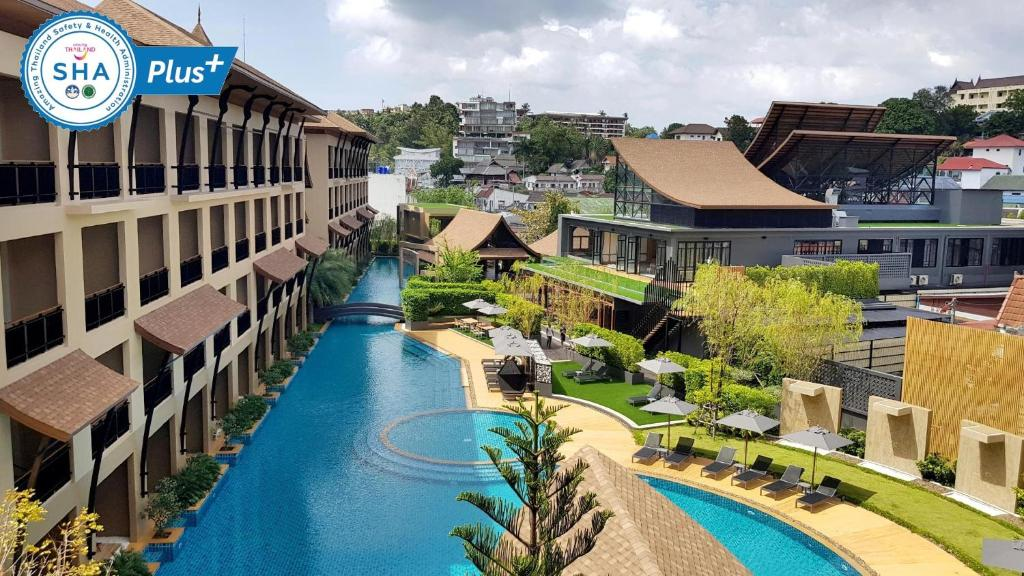 A view of the pool at Aurico Kata Resort & Spa - SHA Plus or nearby