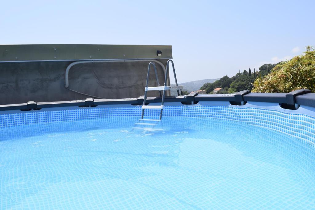 The swimming pool at or close to Veritas Apartments