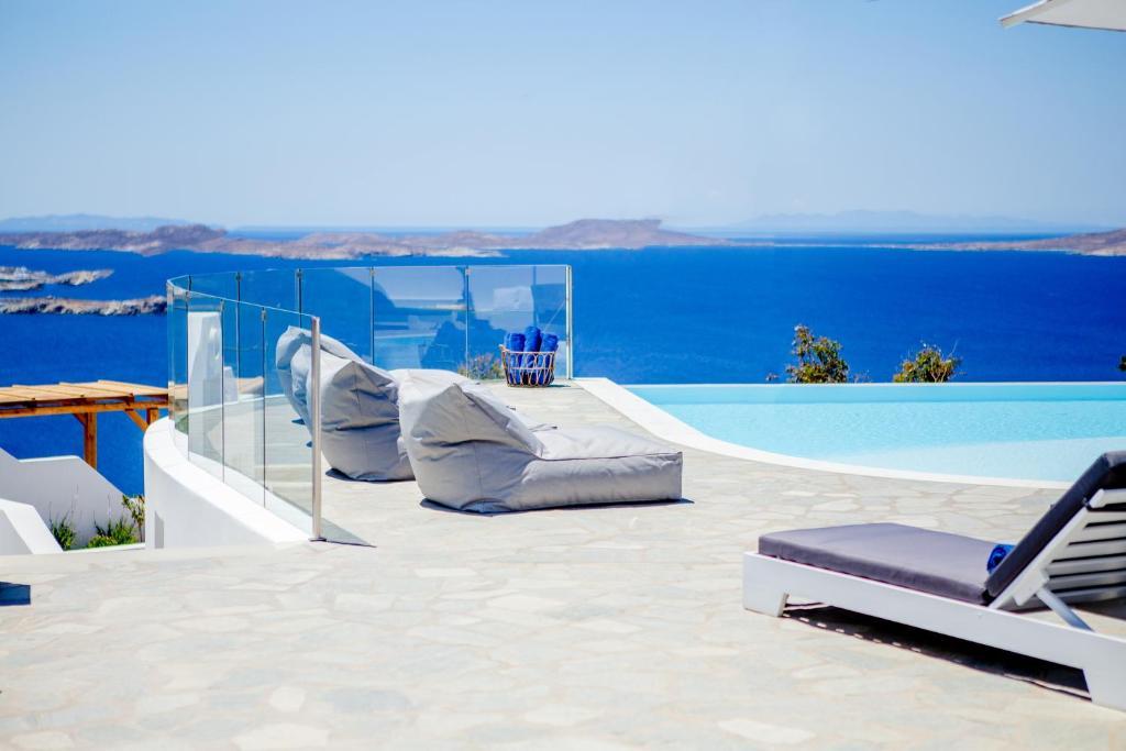 Πισίνα στο ή κοντά στο Agnandi Cielo