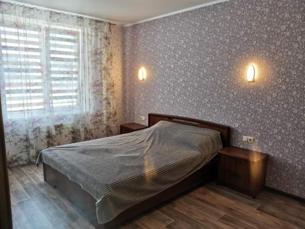Ліжко або ліжка в номері 2ком квартира у моря,Южный одесская обл.
