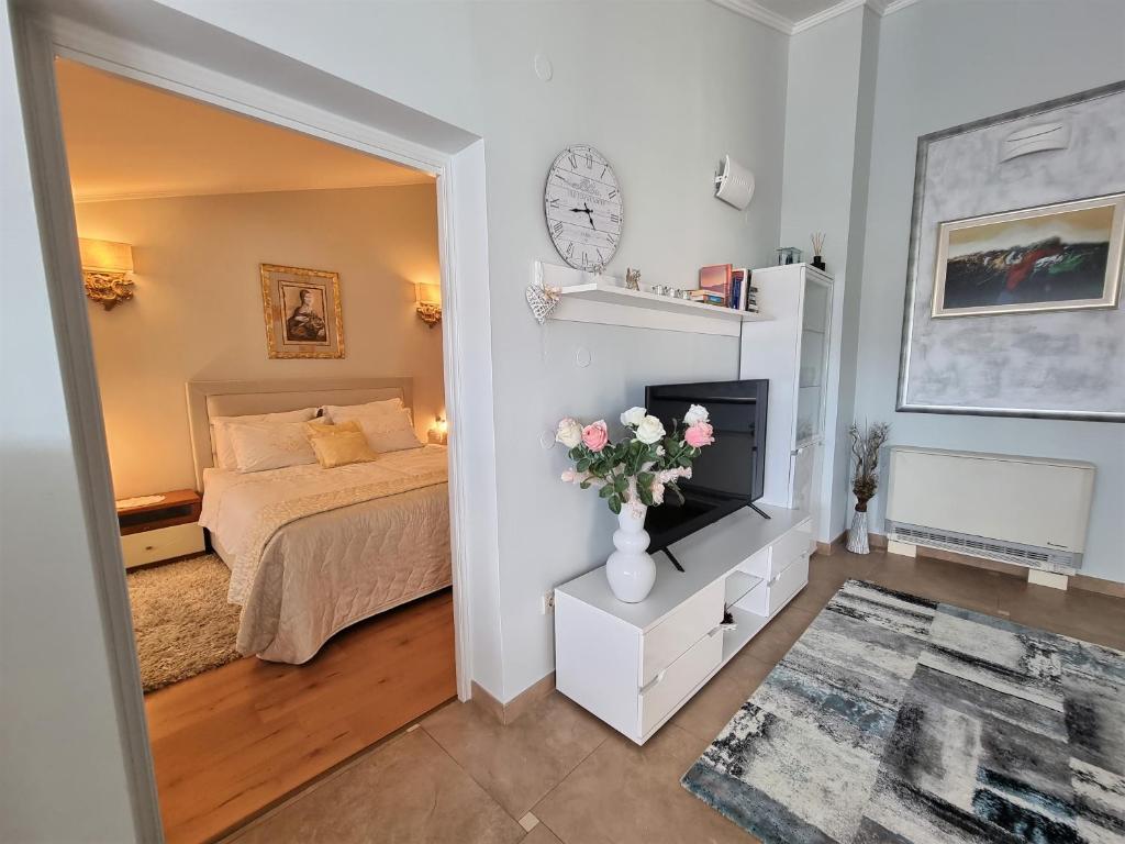 Гостиная зона в Apartments Ragusa