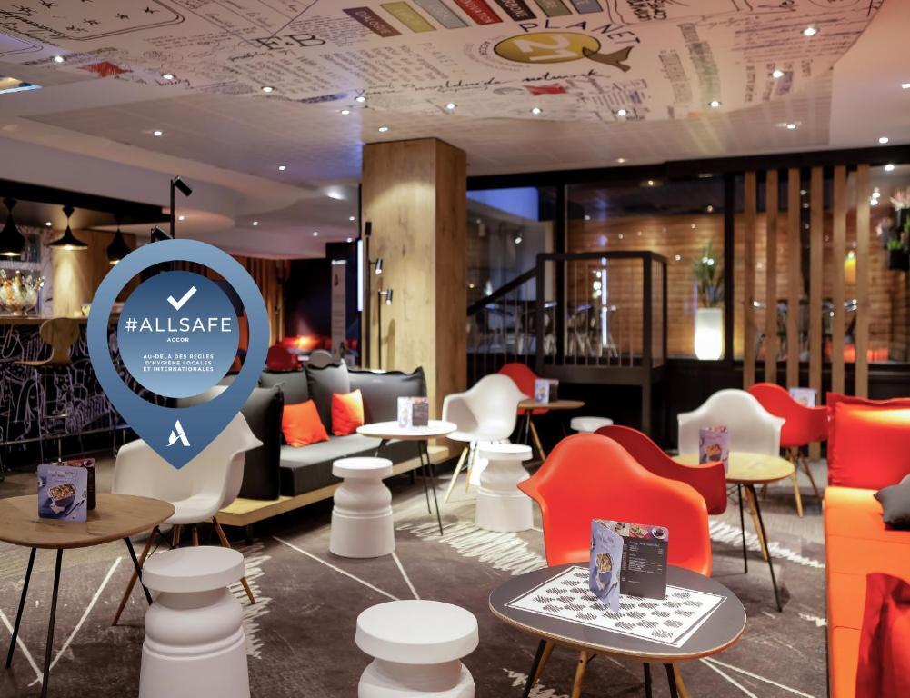 Restaurant ou autre lieu de restauration dans l'établissement ibis Lyon Gare Part Dieu