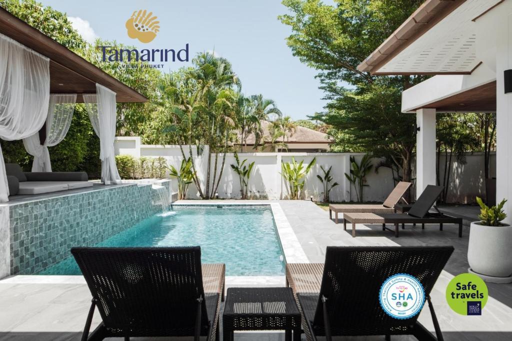 Бассейн в Tamarind Villa Phuket или поблизости