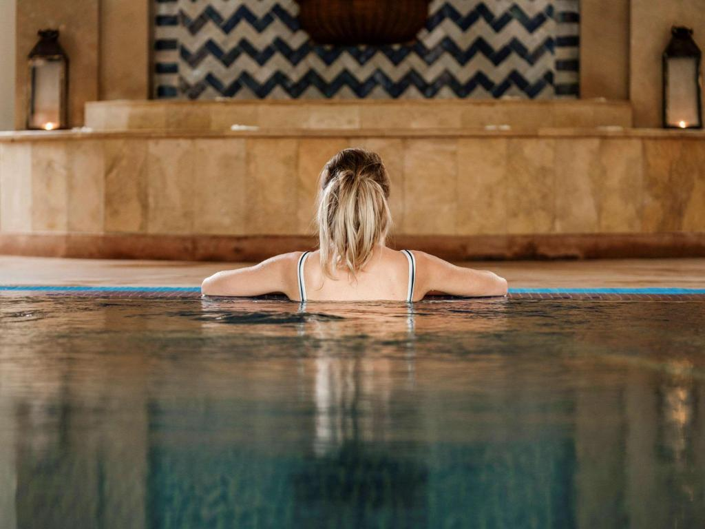 Piscine de l'établissement Hotel Le Médina Essaouira Thalassa sea & spa – Mgallery ou située à proximité
