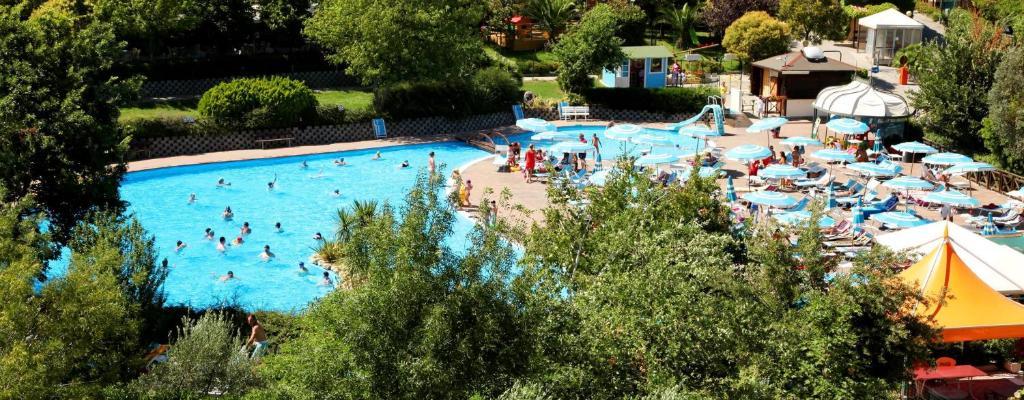 The swimming pool at or near Garden Village San Marino