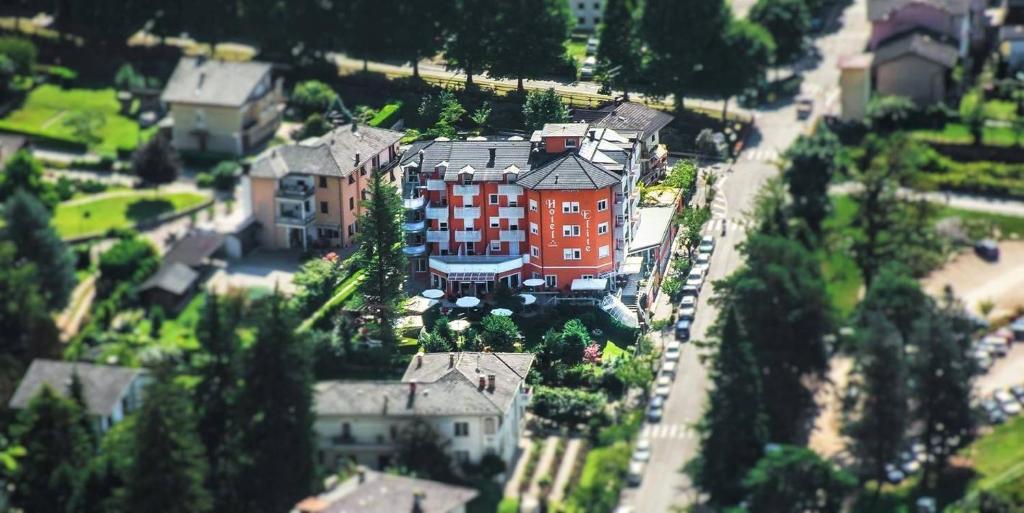 A bird's-eye view of Nature Bio Hotel Elite