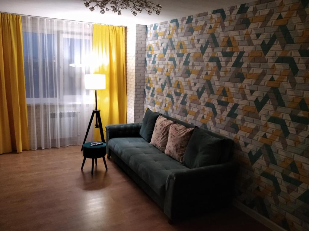 Гостиная зона в 2-комнатные апартаменты на 9 Января