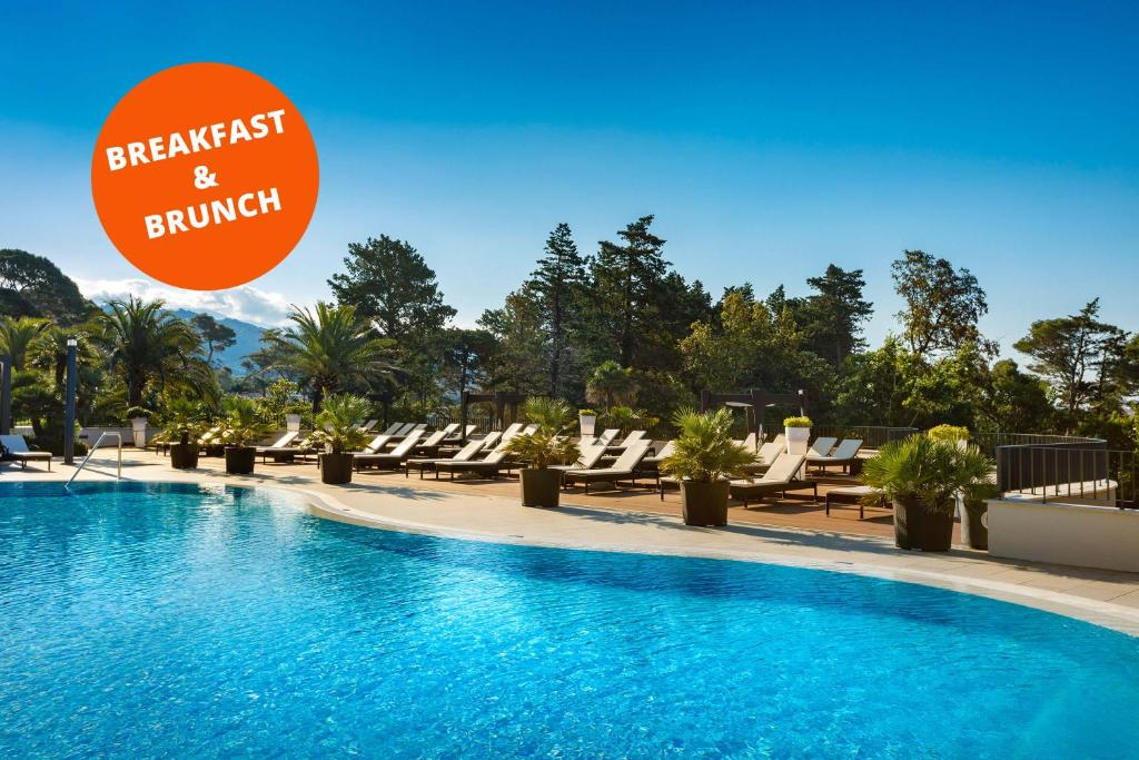 The swimming pool at or near Imperial Valamar Collection Hotel