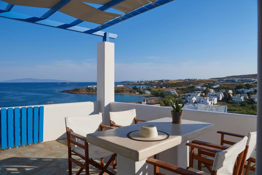 A balcony or terrace at Cleopatra Seaside Homes