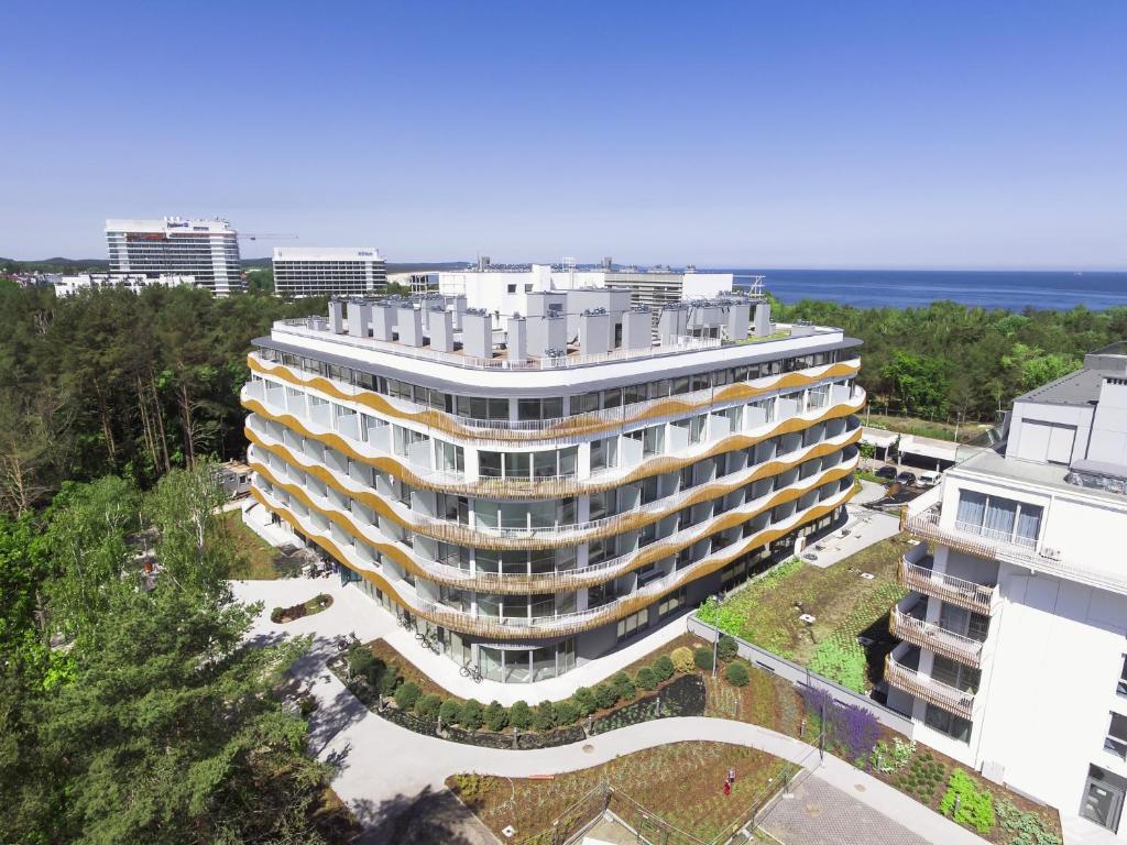 A bird's-eye view of ApartPark Baltic Home