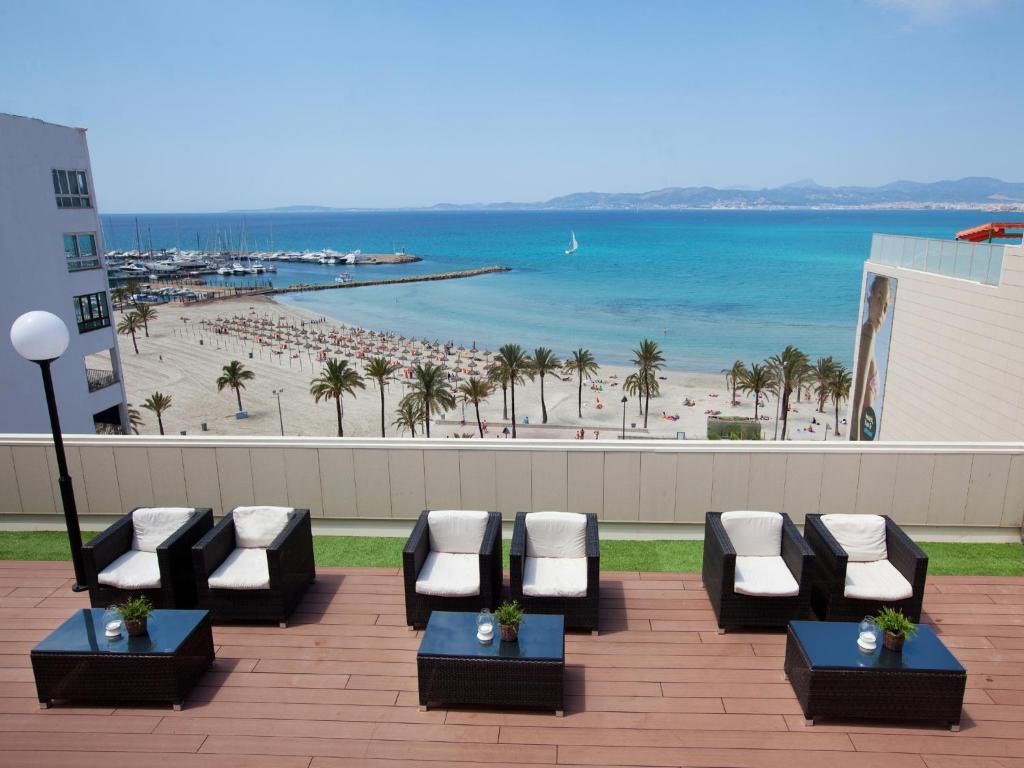 منظر البحر العام أو منظر البحر من الفندق