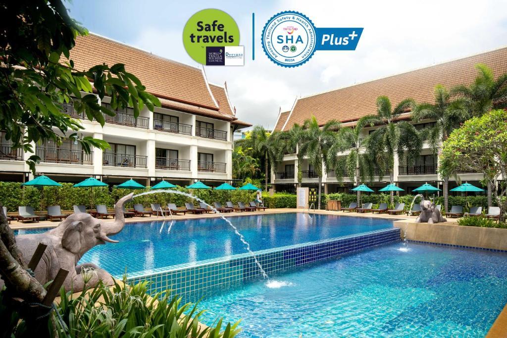 The swimming pool at or near Deevana Patong Resort & Spa - SHA Plus