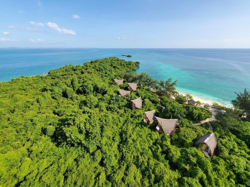 منظر Chumbe Island Coral Park من الأعلى