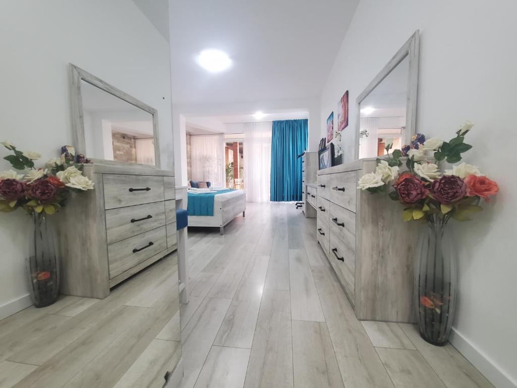 Köök või kööginurk majutusasutuses Egon Apartments