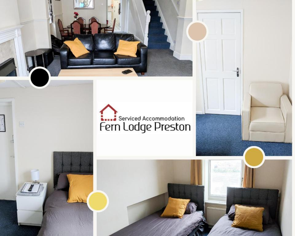 Curran Lodge in Preston, Lancashire, England