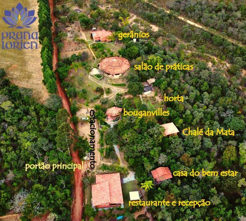 A bird's-eye view of Pousada Spa Prana Lorien