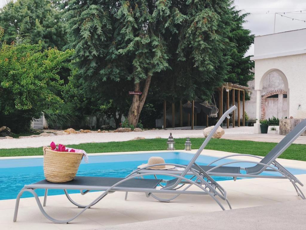A piscina em ou perto de Meio Country House