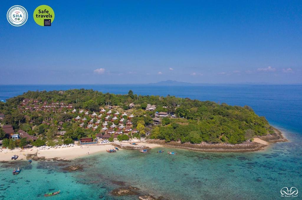 A bird's-eye view of Phi Phi The Beach Resort- SHA Certified