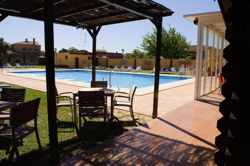 The swimming pool at or near Hotel Dunas Puerto