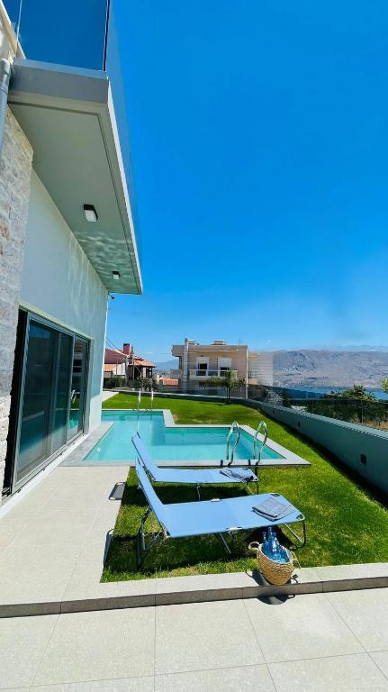 The swimming pool at or near Luxury Villa with magnificent view & pool