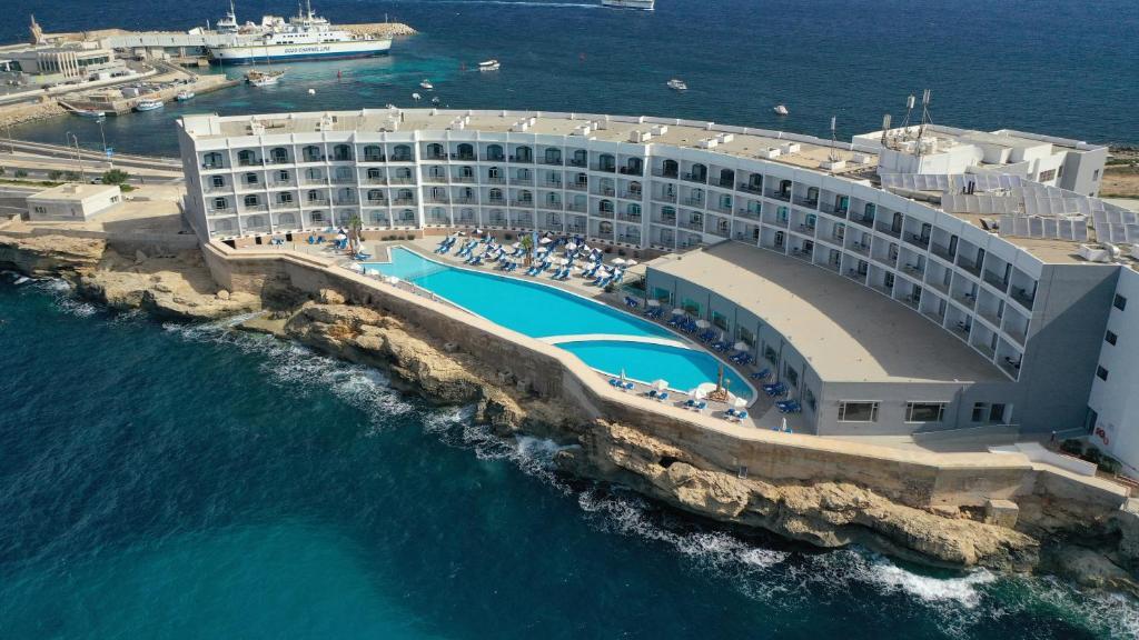 Een luchtfoto van Paradise Bay Resort
