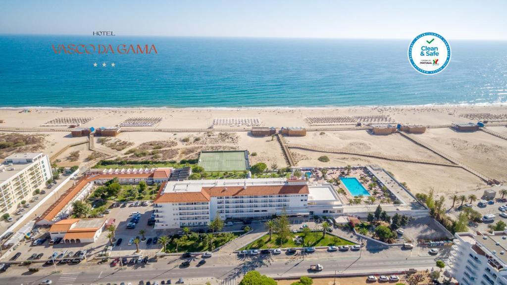 Een luchtfoto van Hotel Vasco Da Gama
