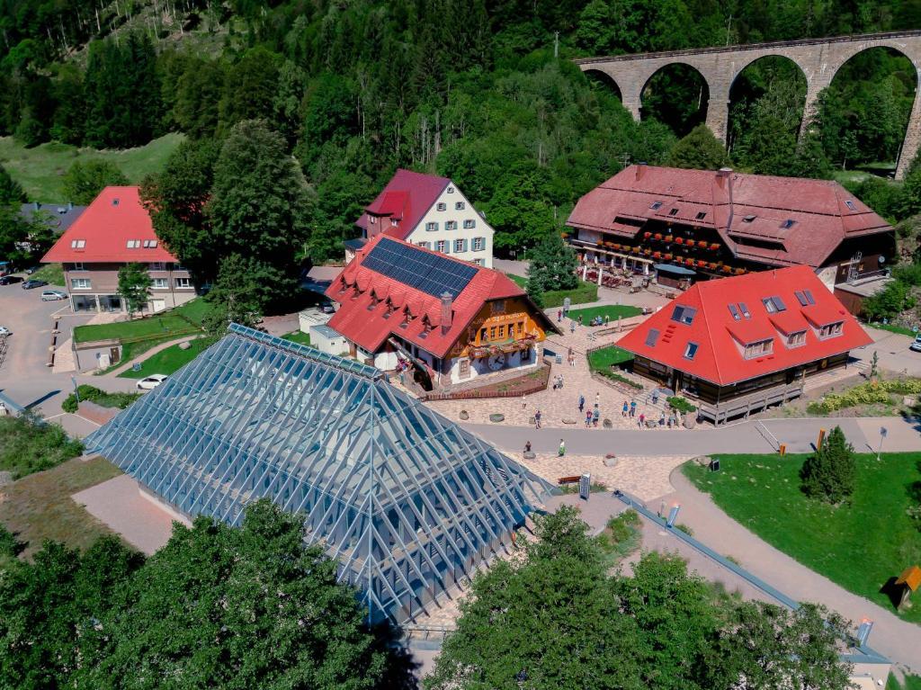 Blick auf Hotel Hofgut Sternen aus der Vogelperspektive